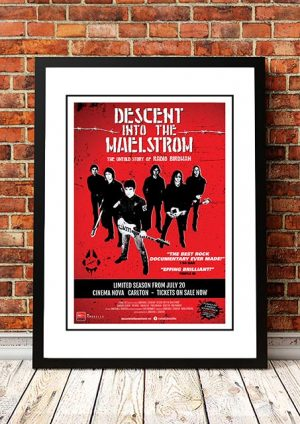 Radio Birdman 'Desent Into The Maelstrom' Movie Poster 2017