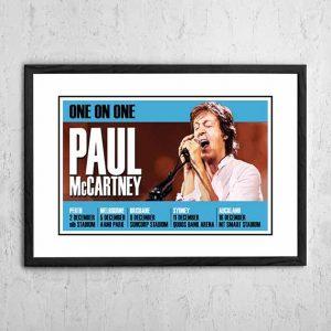 Paul McCartney 'One On One' Australian Tour 2017