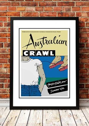 Australian Crawl 'Thongs And T Shirts' Australian Tour 1982