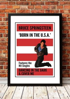 Bruce Springsteen 'Born In The USA' In Store Poster 1985