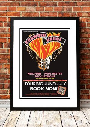 Fabulous Crowded House Posters Order Your Band Concert Tour Download Free Architecture Designs Terchretrmadebymaigaardcom