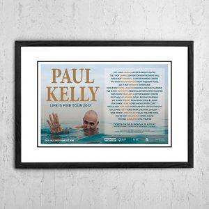 Paul Kelly 'Life Is Fine' Tour Australia 2017