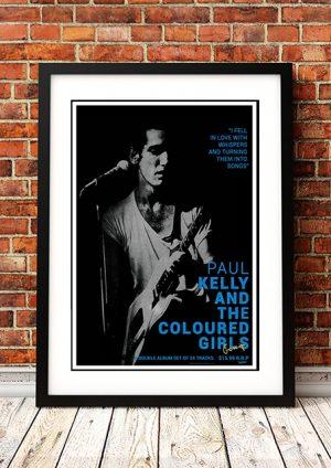 Paul Kelly – 'Gossip' In-Store Poster 1986
