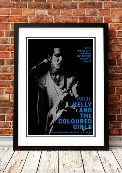 Paul Kelly - 'Gossip' In-Store Poster 1986-0