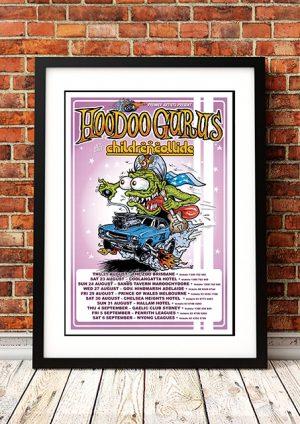 Hoodoo Gurus / Children Collide – Australian Tour 2008