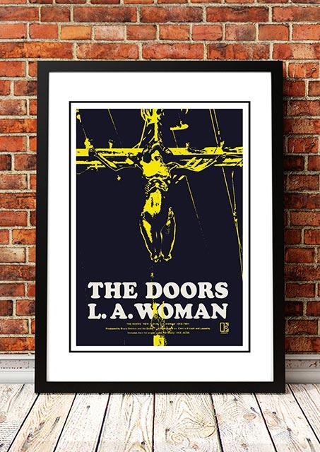 The Doors 'LA Woman' In Store Poster 1971