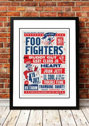 Foo Fighters / Buddy Guy / Joan Jett '4th Of July' Washington, USA 2015