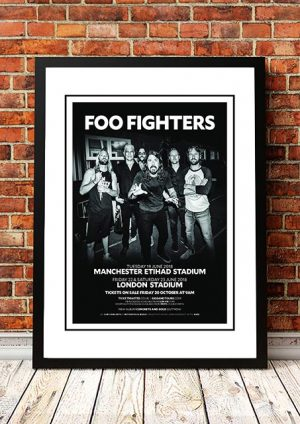 Foo Fighters 'Manchester / London' UK 2018
