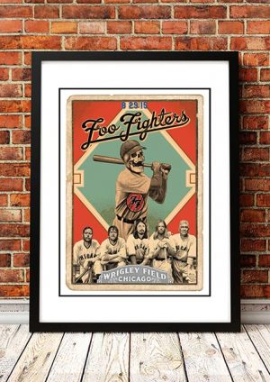 Foo Fighters 'Wrigley Field' Chicago, USA 2018
