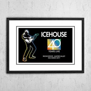 Icehouse '40 Years Live' Hunter Valley, Australia 2017