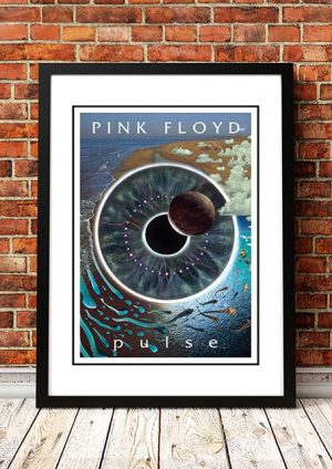 Pink Floyd 'Pulse' In Store Poster 1995