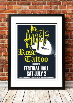 Angels / Rose Tattoo / Choirboys 'Festival Hall' Melbourne, Australia 1983