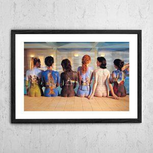 Pink Floyd 'Painted Ladies' Poster 1997