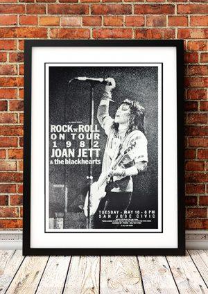Joan Jett – 'Rock 'n' Roll On Tour' California USA 1982