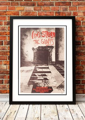 The Saints 'I'm Stranded' In Store Poster 1977