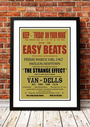 Easybeats 'Friday On My Mind' Sydney, Australia 1967