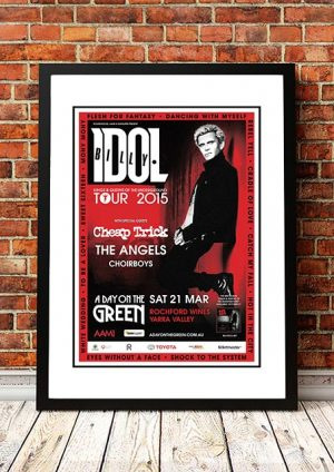 Billy Idol / Cheap Trick / The Angels 'A Day On The Green'  Yarra Valley, Australia 2015