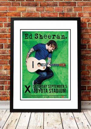 Ed Sheeran 'Toyota Stadium' Dallas, USA 2018