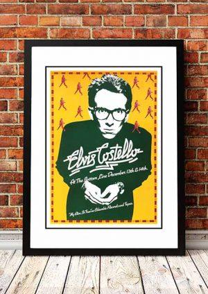 Elvis Costello 'The Bottom Line' New York USA 1977