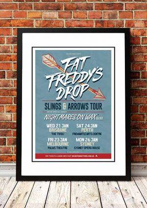 Fat Freddy's Drop 'Slings And Arrows' Australian Tour 2015