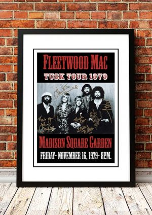 Fleetwood Mac 'Madison Square Garden' New York, USA 1979
