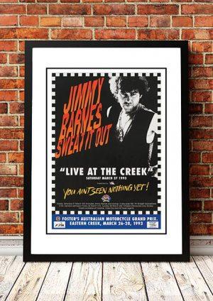 Jimmy Barnes 'Live At The Creek' Eastern Creek, Australia 1993