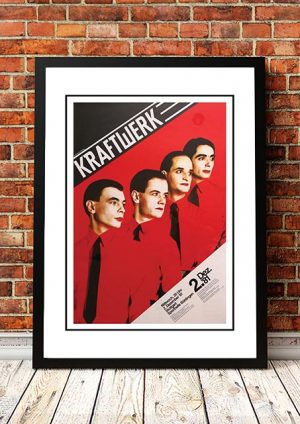Kraftwerk 'Man Machine' Stuttgart, Germany 1981