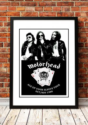 Motorhead 'Ace Up Your Sleeve' Tour 1980