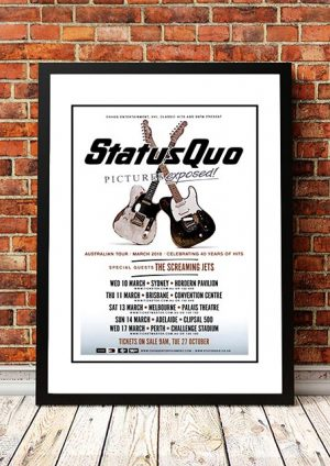 Status Quo / The Screaming Jets 'Pictures Exposed' Australian Tour 2010