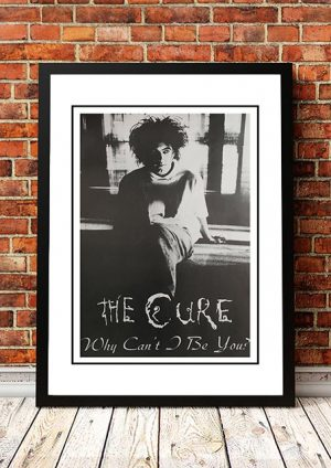 The Cure 'Why Can't Be You' In Store Poster 1987