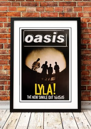 Oasis 'Lyla' In Store Poster 2005