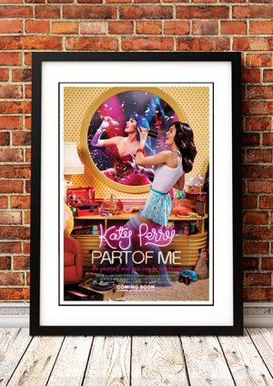 Katy Perry 'Part Of Me' Movie Poster 2018