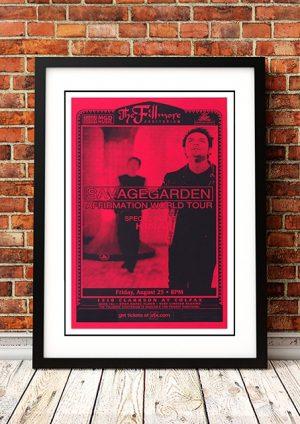 Savage Garden 'Fillmore' Denver, USA 2000