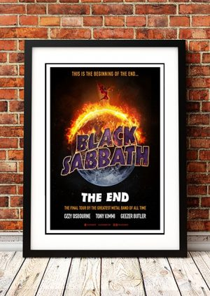 Black Sabbath 'The End' Final Tour 2017