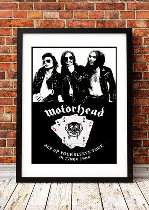 Motorhead 'Ace Up Your Sleeve' Tour 1980