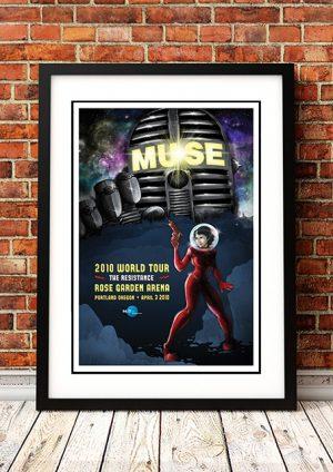 Muse 'Rose Garden Arena' Portland, USA 2010