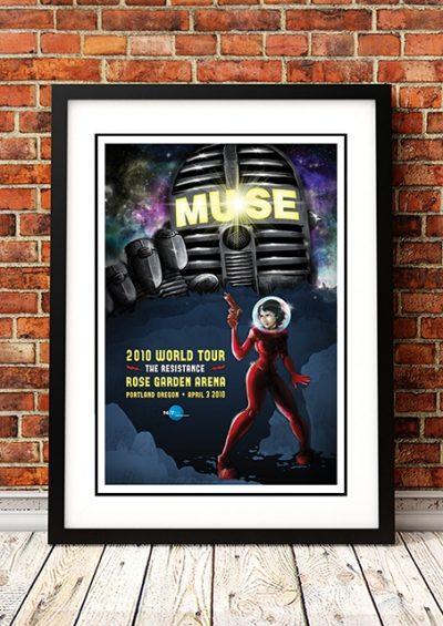 Muse - 'Rose Garden Arena' Portland, USA 2010-0