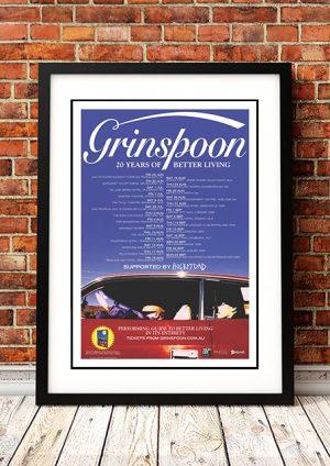 Grinspoon '20 Years Of Better Living' Australian Tour 2017
