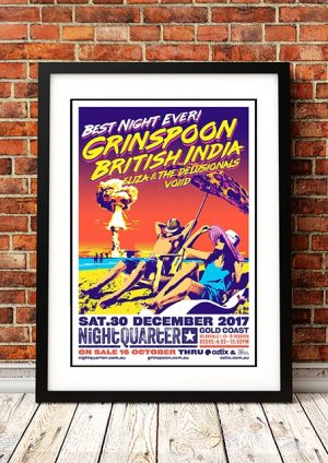 Grinspoon / British India 'Best Night Ever' Gold Coast Australia 2017