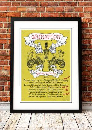 Grinspoon 'Hard Act To Follow' Australian Tour 2004