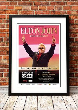 Elton John 'A Day On The Green' Geelong, Australia 2015