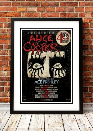 Alice Cooper / Ace Frehley '40th Anniverary' Australian Tour 2017
