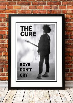 The Cure 'Boys Don't Cry' In Store Poster 1984