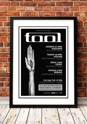 Tool 'Australian Tour' 2013