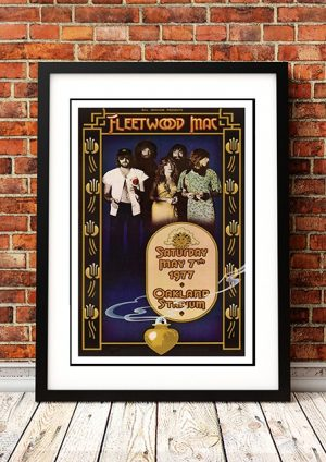 Fleetwood Mac 'Oakland Stadium' California, USA 1977