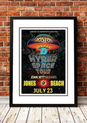 Boston / Joan Jett 'Hyper Space Tour' Jones Beach, USA 2017