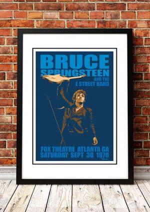 Bruce Springsteen 'Fox Theatre' Atlanta, USA 1978