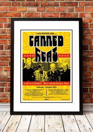 Canned Heat '50th Anniversary' Australian Tour 2015