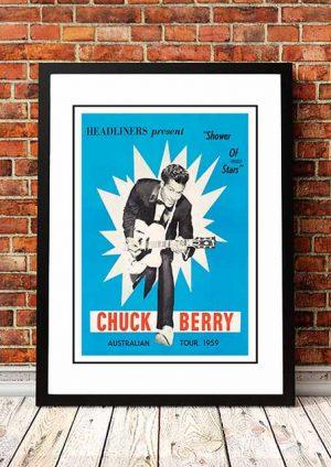 Chuck Berry 'Australian Tour' 1956