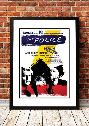 The Police 'Hollywood Park' California, USA 1983